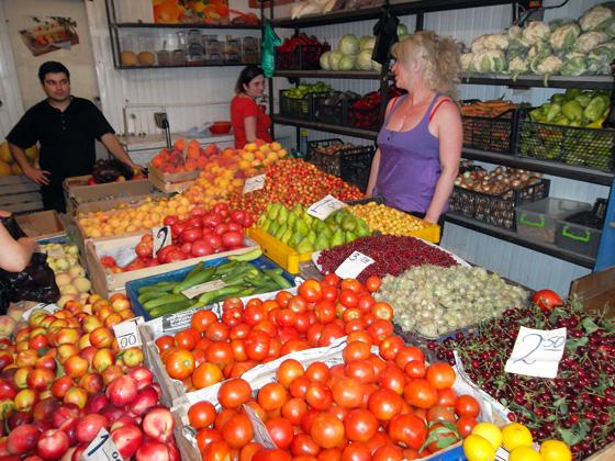 овощи и фрукты в грузии