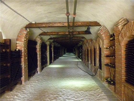 Винный туннель в Кахетии