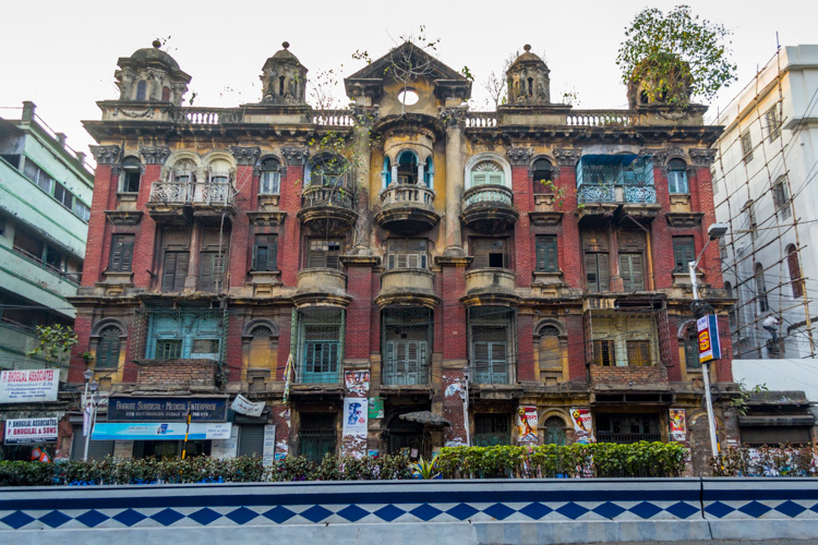 British architecture in Kolkata