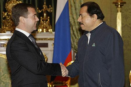Даниэль Ортега И Дмитрий Медведев Источник - Википедия