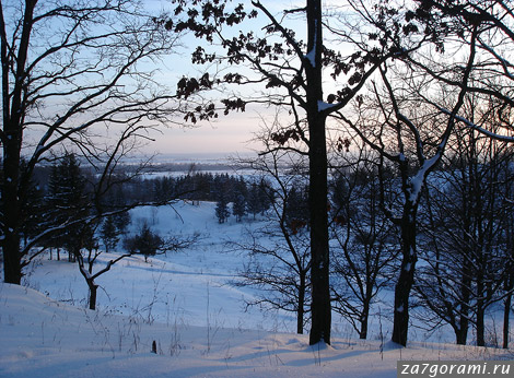 Псковская область, зима