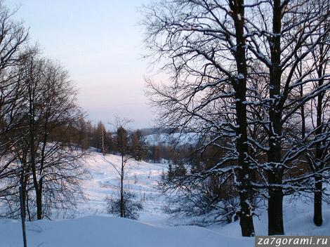 Псковская область зимой