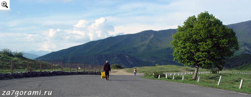 Дорога к Джвари