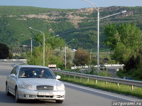 Трасса Тбилиси - Гори