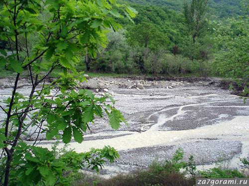 Река Глданис-хеви