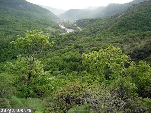 Долина реки Глданис-хеви