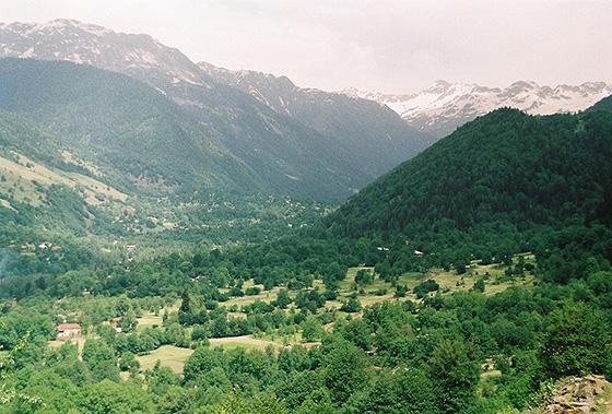 Село Чубери, Сванетия