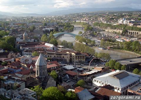 Тбилиси весной