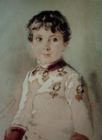 Константин Маковский, Портрет мальчика
