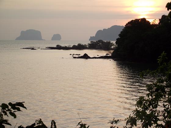 Закат в Ао Нам Мао