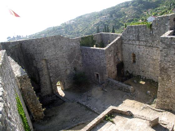 Цитадель крепости в Баре