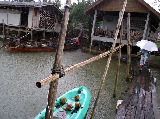 дождь в таиланде