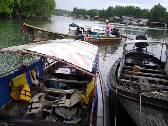 тайские лодки