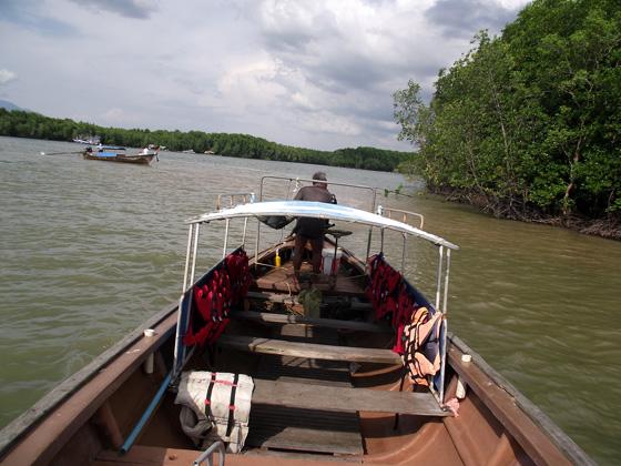 экскурсия по реке Краби