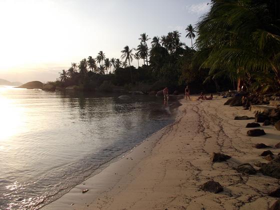 пляж тонг салы