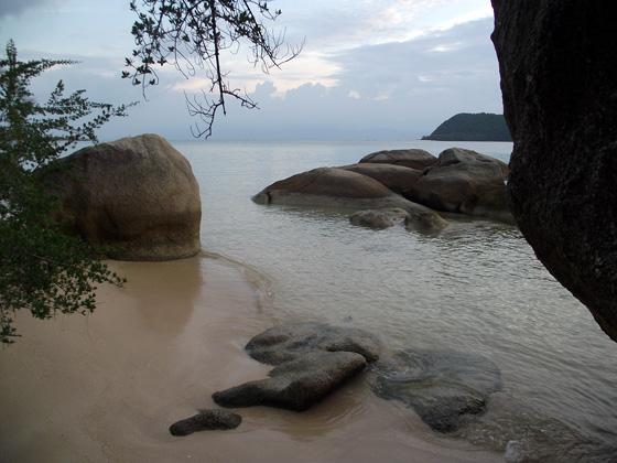 пляж в тонг сале