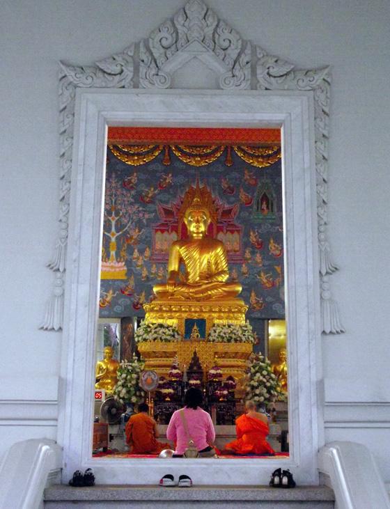 Буддийский храм в Краби