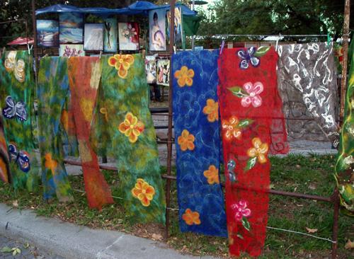 Продажа тканей в Тбилиси