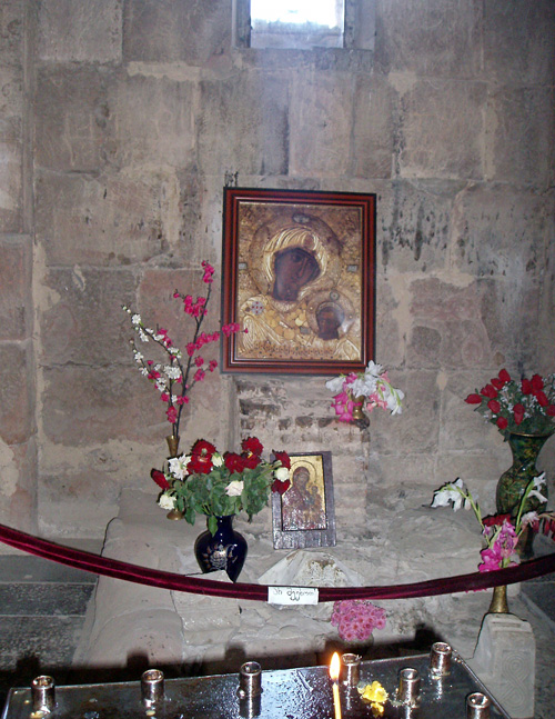Интерьер монастыря Джвари