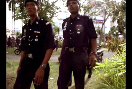 малайская полиция