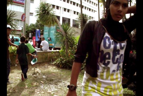 малайская девушка, фото