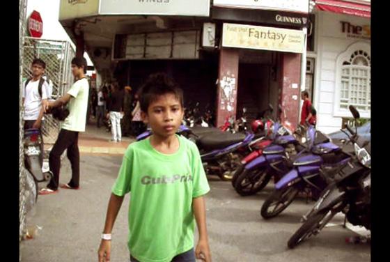 малайский ребенок