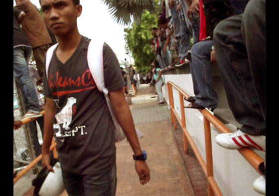 малайский мотогонщик