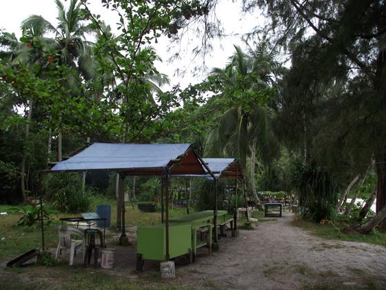 где можно поставить палатку на пенанге