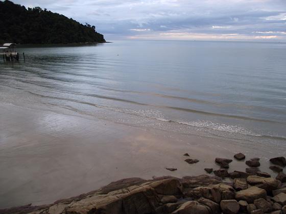 пляж нац парка пенанга