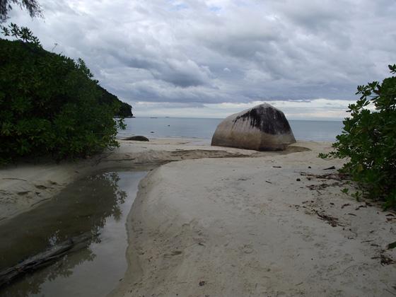пляж Monkey beach, Пенанг