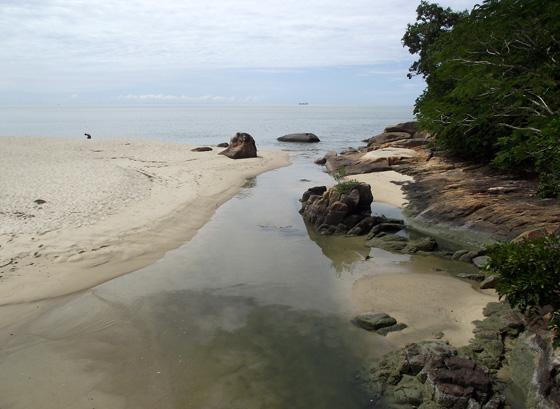 пляж, Национальный парк Пенанга