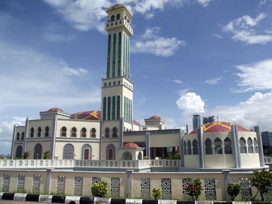 Плавучая мечеть, Пенанг