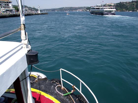 Морская экскурсия по Босфору