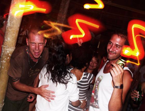 вечеринка в тайланде