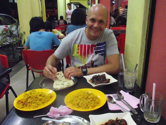 индийский ресторан, пенанг