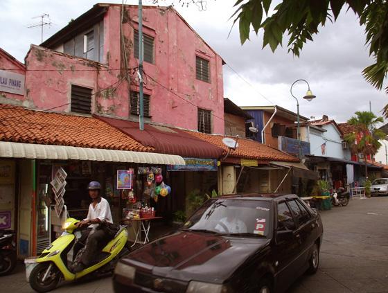 индийская улица на пенанге