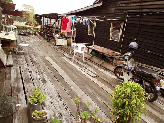 пенанг, рыбацкая деревушка Chew Jetty