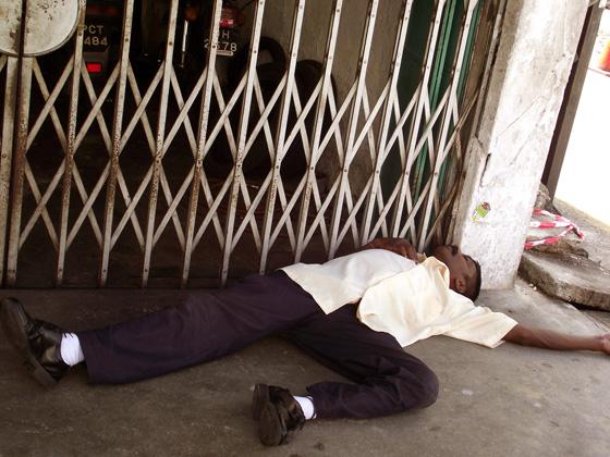 бездомный, малайзия