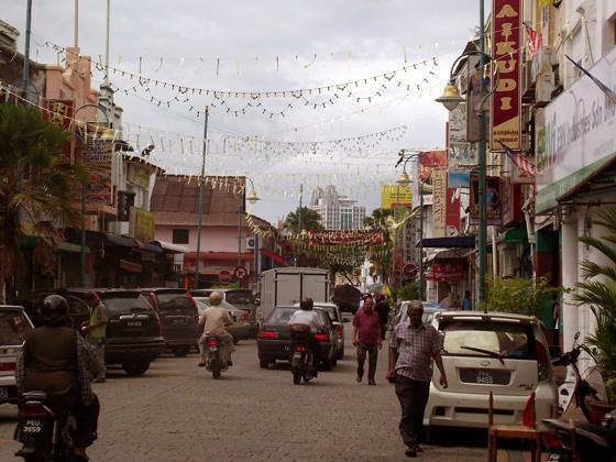 пенанг. индийский квартал