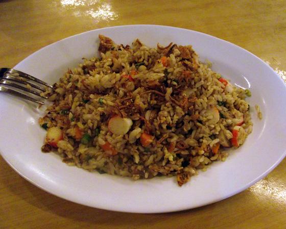 Nasi Goreng, кухня Пенанга