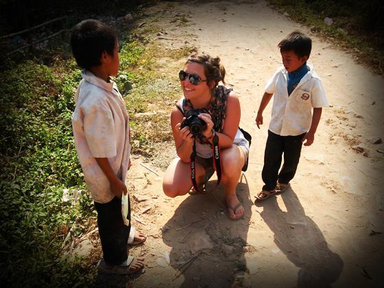 лаосские дети