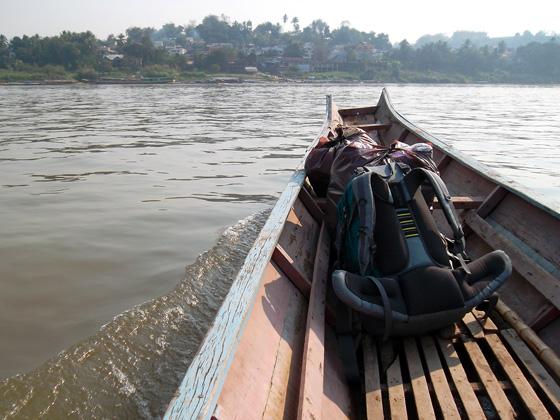 лодка в лаос из чианг кхонга