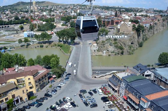 канатная дорога в грузии