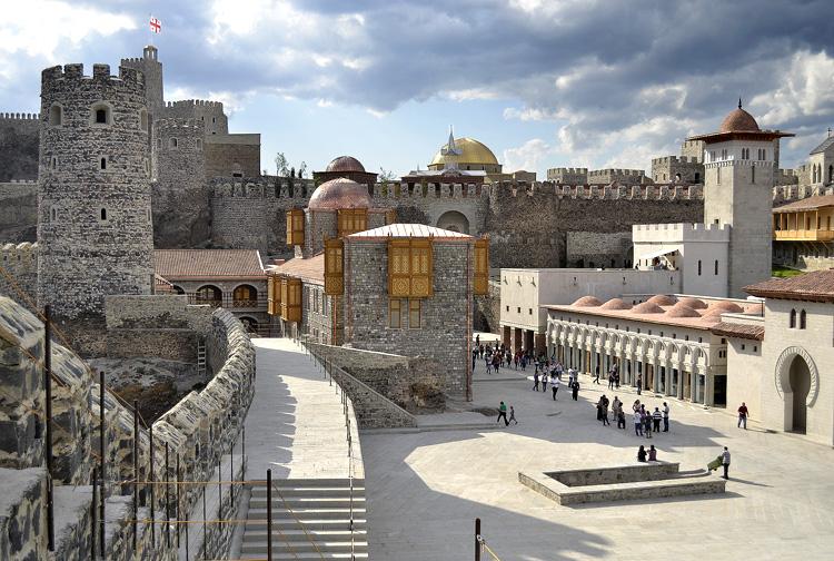 крепость рабат, грузия