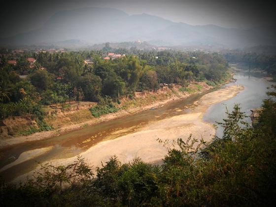 река кхан в луанг прабанге