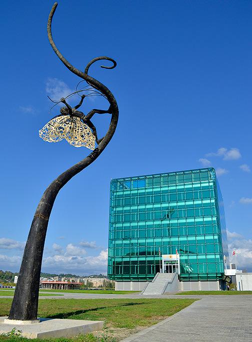 новая грузинская архитектура