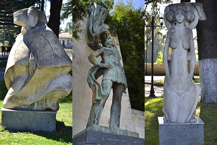 скульптуры Кутаиси