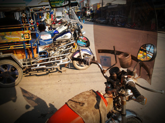 тук-тук в Таиланде