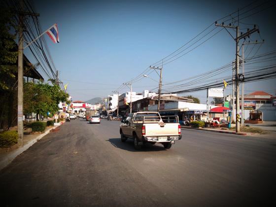 дороги в Таиланде