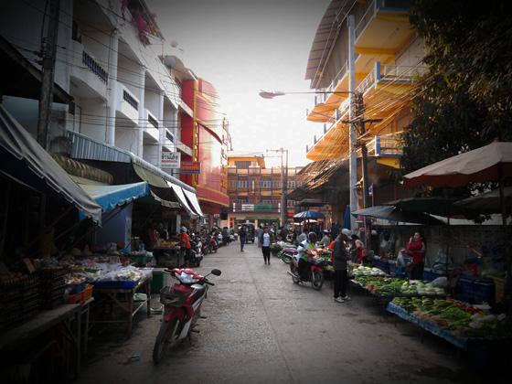 Рынок в Лоэ